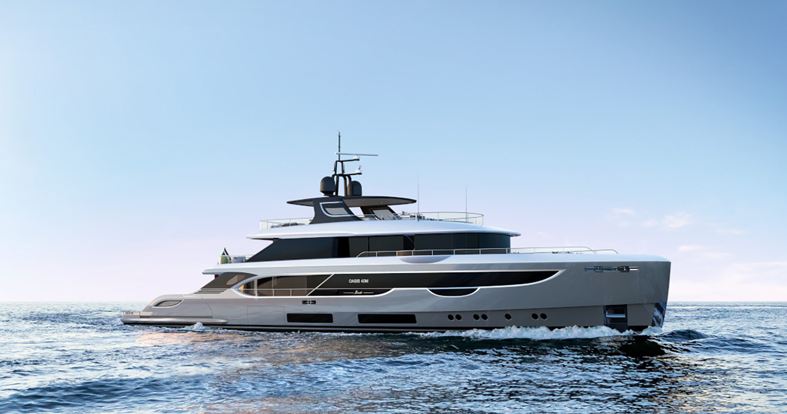 The first Oasis by Benetti... Sold!