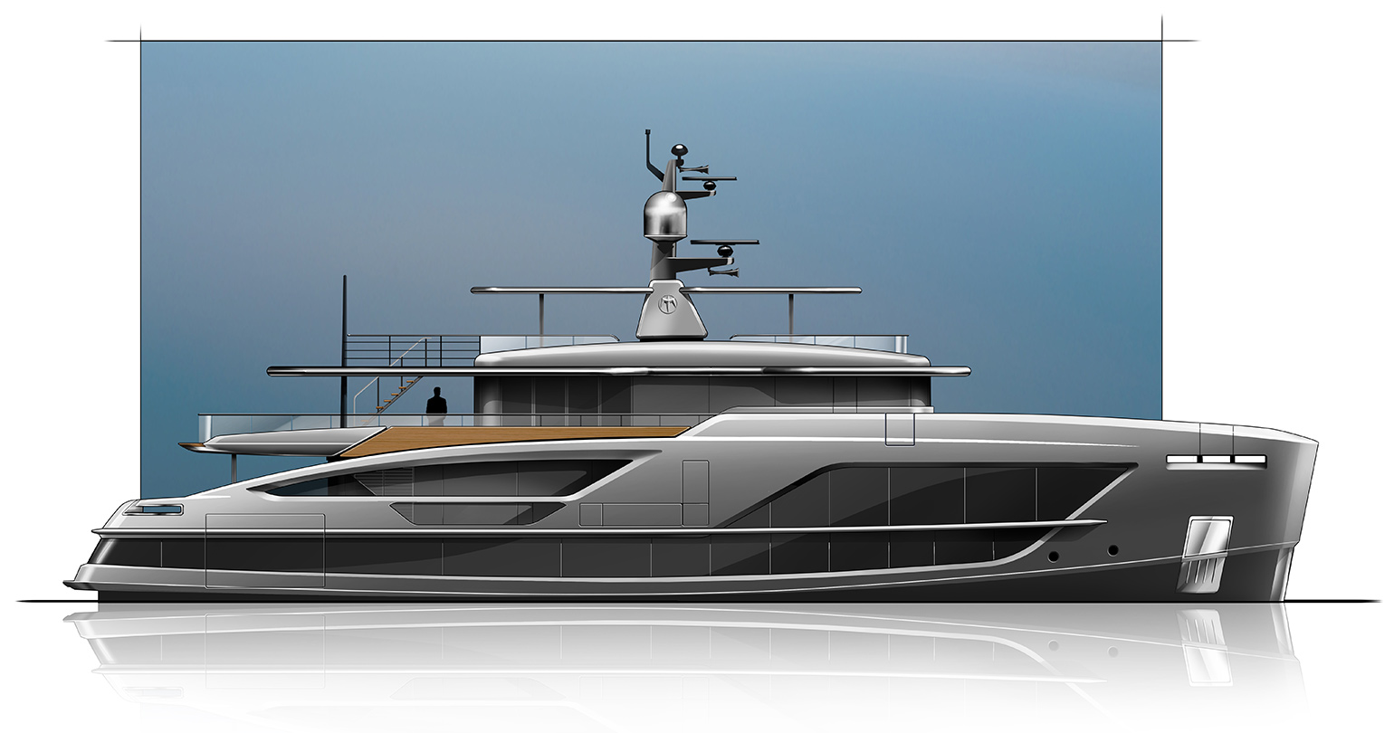 The first Baglietto V-Line 38m Sold