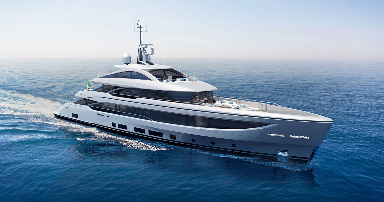 Benetti B.NOW 50 M — the 3rd Hull Under Construction