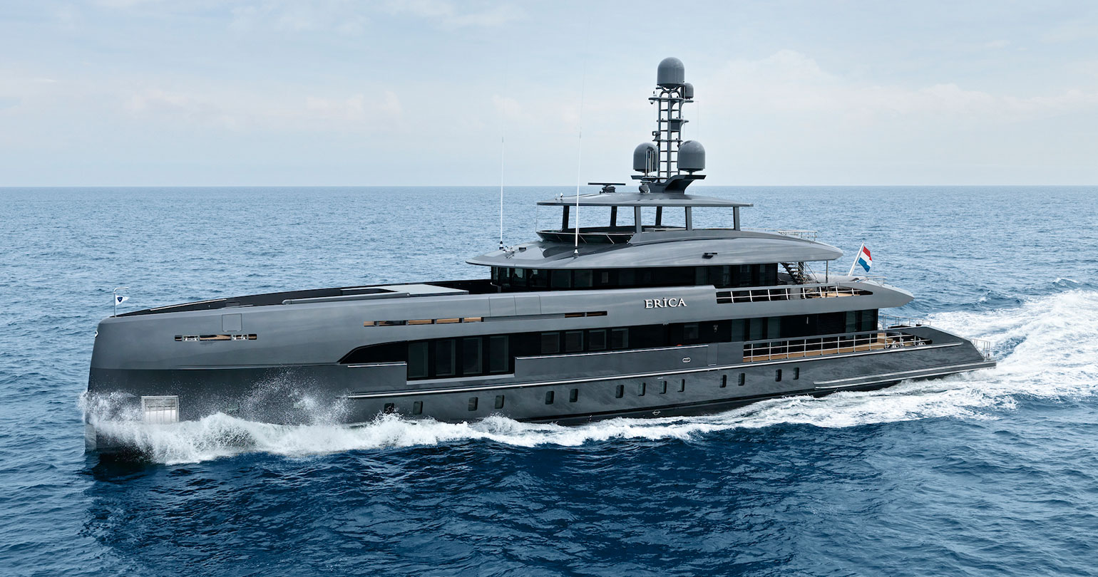 Heesen Yachts: Project Boreas turned into Erica