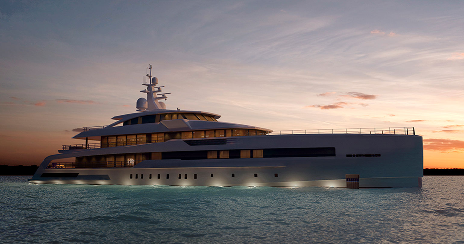 Brave elegance: the new CRN 62-meter yacht