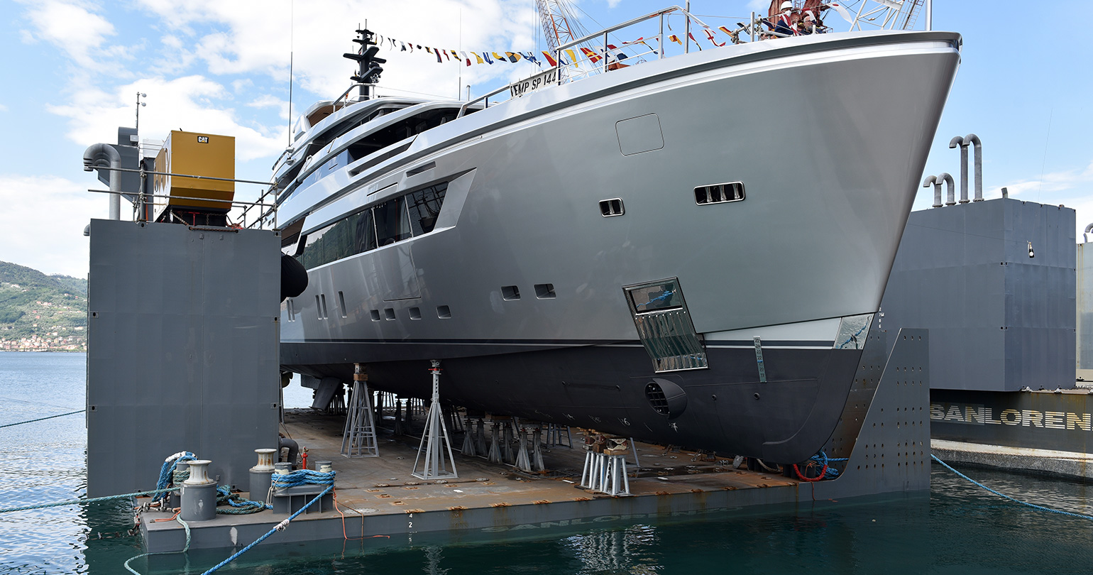 Sanlorenzo Alloy 44 already launched