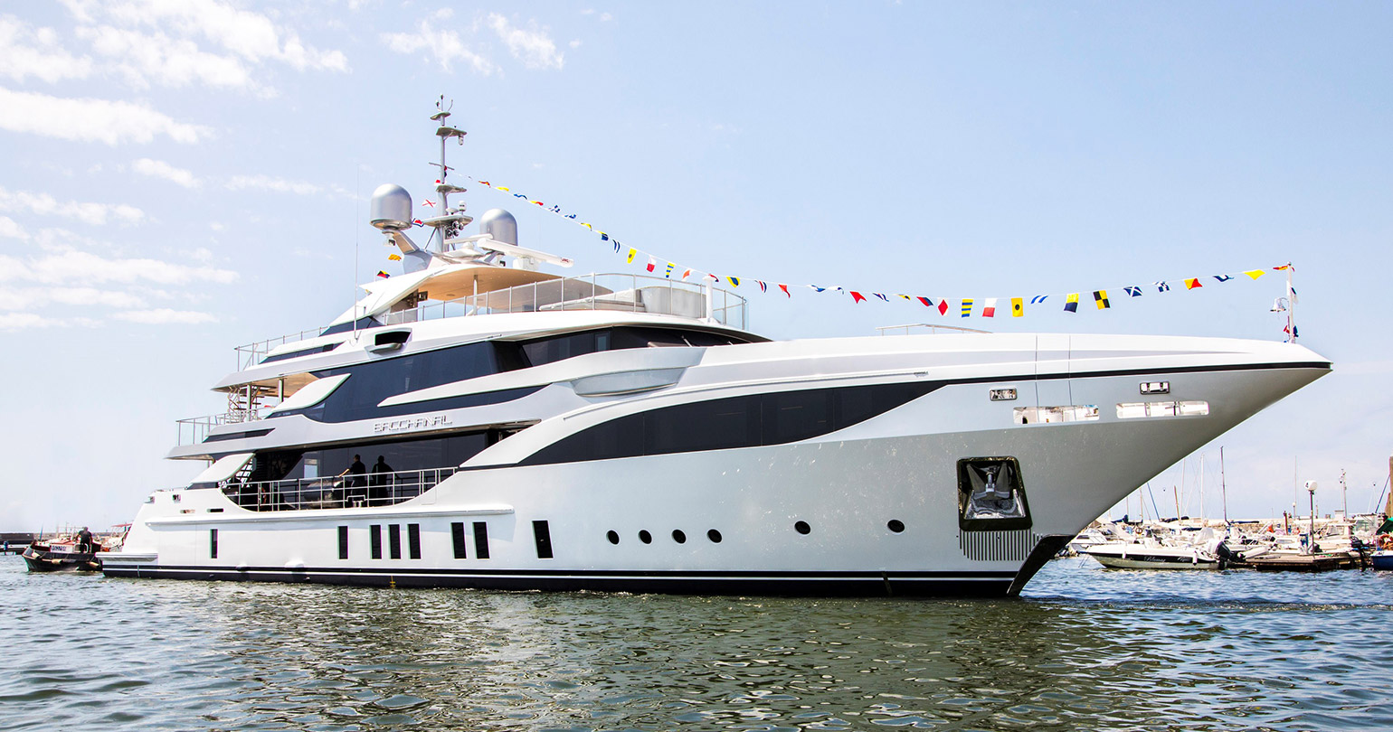 New Superyacht by Benetti: Bacchanal